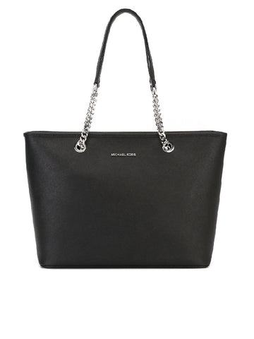 Michael Kors Michael Kors  Jet Set Travel Multifunction Top Handle Tote Bag (Black) Bags - DNovo