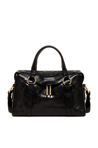 Marc Jacobs Marc Jacobs Small Wellington Fulton Satchel (Black) Bags - DNovo
