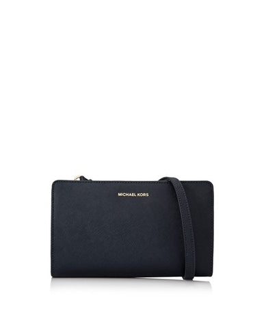 Michael Kors Michael Kors Jet Set Travel Large Crossbody Clutch (Admiral) Bags - DNovo