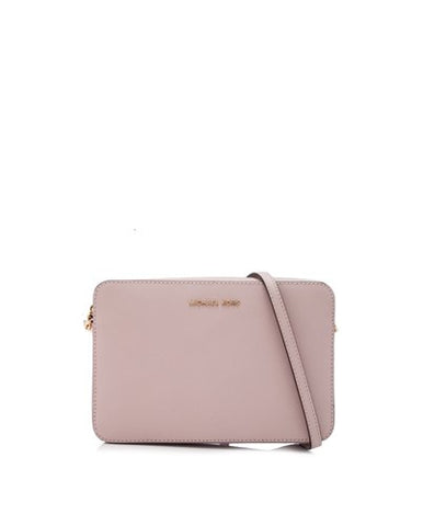 Michael Kors Michael Kors Jet Set East West Large Crossbody Bag (Soft Pink) Bags - DNovo