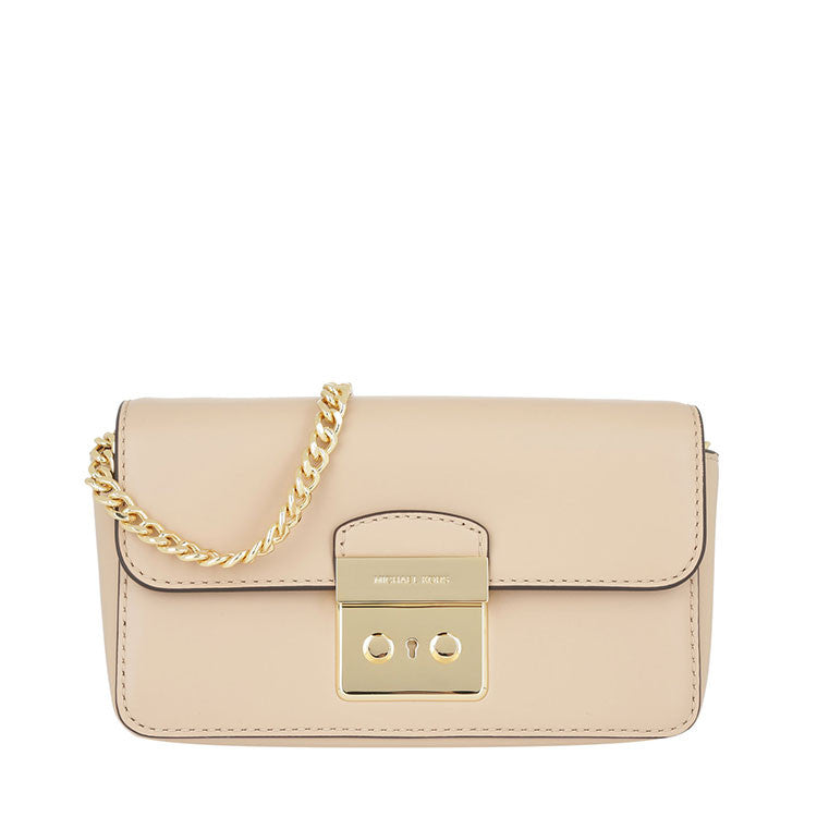 9924a96a34b9e4 Michael Kors Michael Kors Sloan Editor Wallet On A Chain (Oyster) Bags -  DNovo