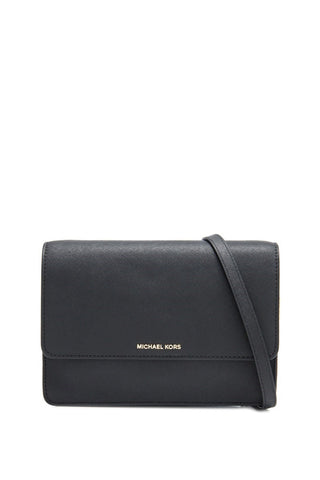 Michael Kors Michael Kors Daniela Large Crossbody Bag (Black) Bags - DNovo