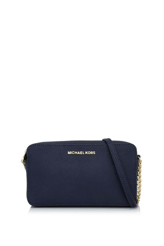 Michael Kors Michael Kors Jet Set Medium East West Crossbody Bag (Admiral) Bags - DNovo