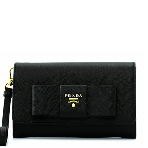 9703ee54022b 12345678910 72a7f 6a6ae 314c5 ea477 coupon prada prada saffiano fiocco flap  wallet nero small leather goods dnovo 7b2d3 c1424
