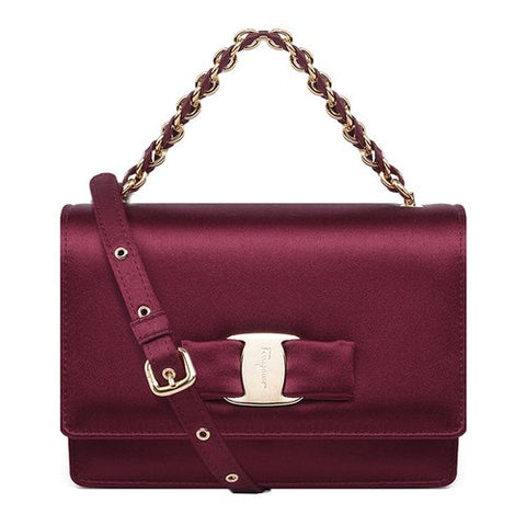 Salvatore Ferragamo Ginny Mini Shoulder Bag (Opera) # 21F657649953