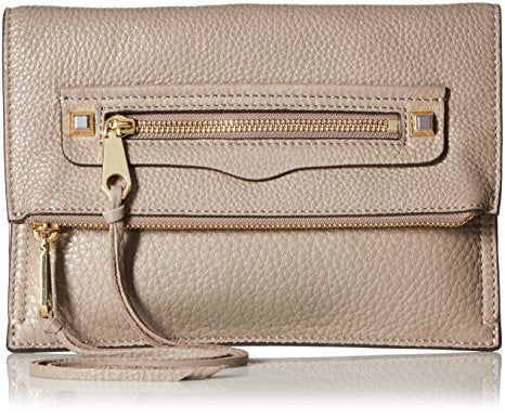 Rebecca Minkoff Small Regan Clutch (Mushroom)