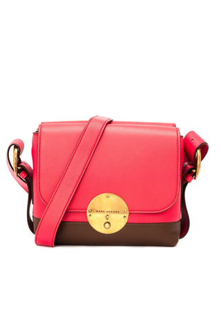 Marc Jacobs Marc Jacobs Mini Twin Shoulder Bag (Passion/Terra Ant Gold) Bags - DNovo
