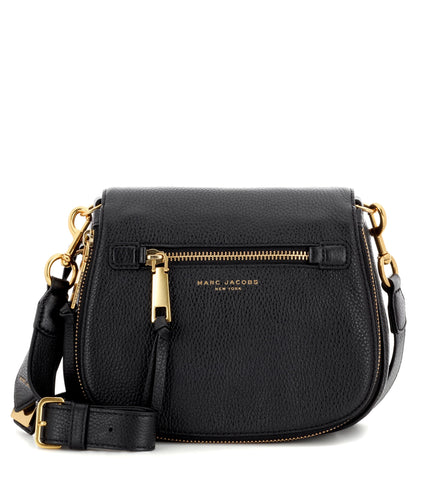 Marc Jacobs Marc Jacobs Recruit Small Saddle Bag (Black) Bags - DNovo