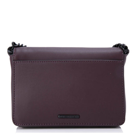 Rebecca Minkoff Avery Crossbody Bag (Dark Cherry)