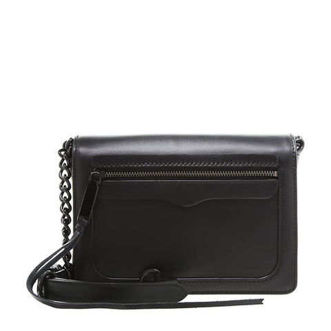 Rebecca Minkoff Avery Crossbody Bag (Black)