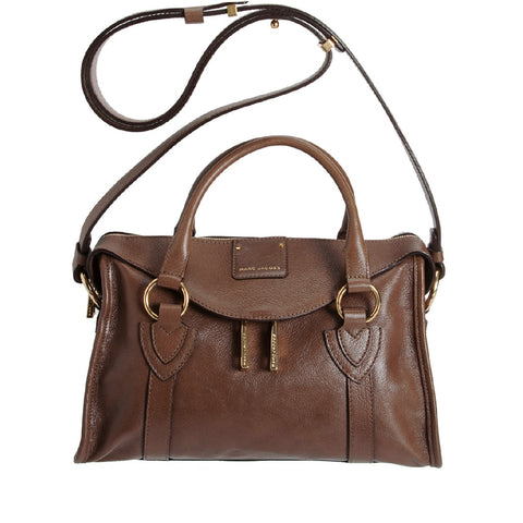 Marc Jacobs Marc Jacobs Small Wellington Fulton Satchel (Brown) Bags - DNovo