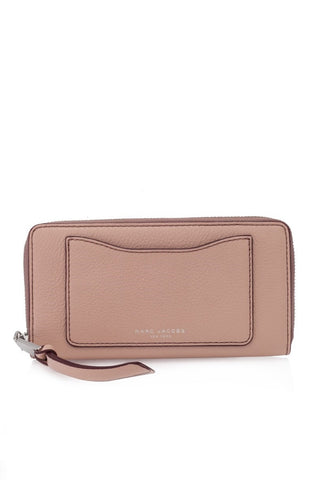 Marc Jacobs Marc Jacobs Recruit Continental Zip Around Wallet (Nude) Small Leather Goods - DNovo
