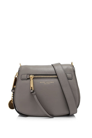 Marc Jacobs Marc Jacobs Recruit Small Saddle Bag (Mink) Bags - DNovo