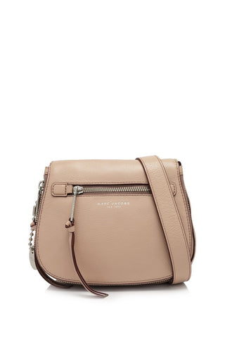 Marc Jacobs Marc Jacobs Recruit Small Saddle Bag (Nude) Bags - DNovo