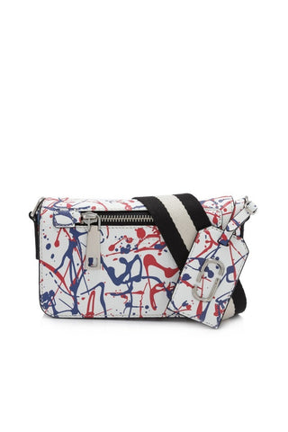 Marc Jacobs Marc Jacobs Splatter Paint Cross Body Bag (White Multi) Bags - DNovo