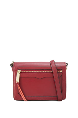 Rebecca Minkoff Avery Crossbody Bag (Deep Red)