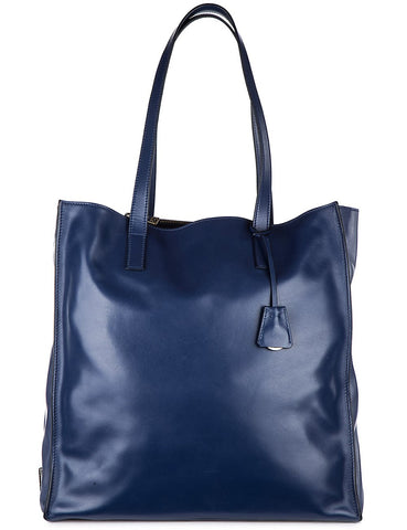 Prada Prada Nuova Soft Calf Shoulder Bag (Bluette) Bags - DNovo