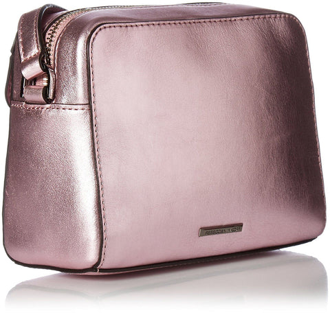 Rebecca Minkoff MAB Camera Bag (Metallic Pink)
