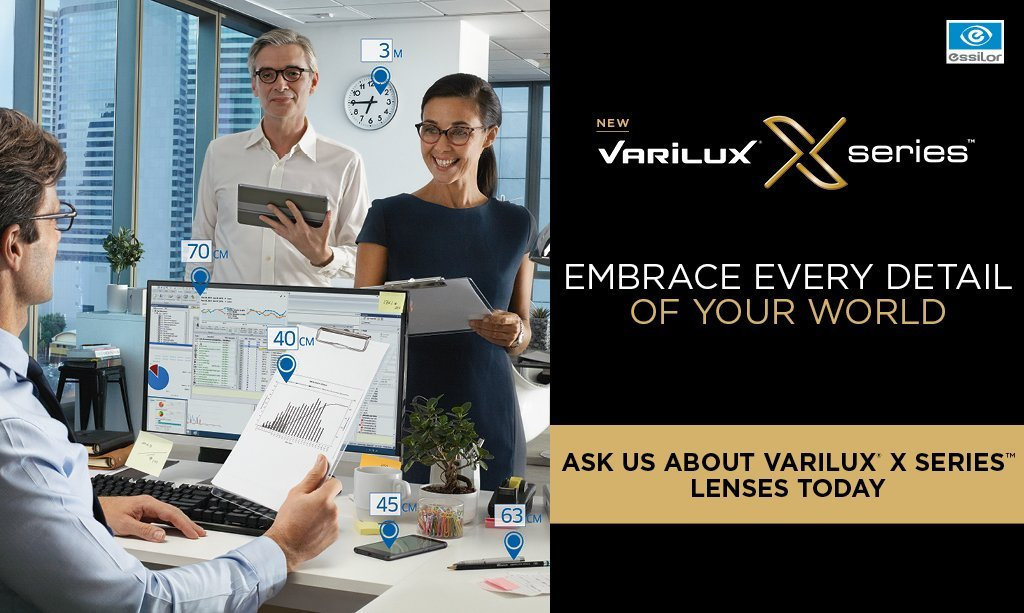 Capitol Optical launches Varilux X Series