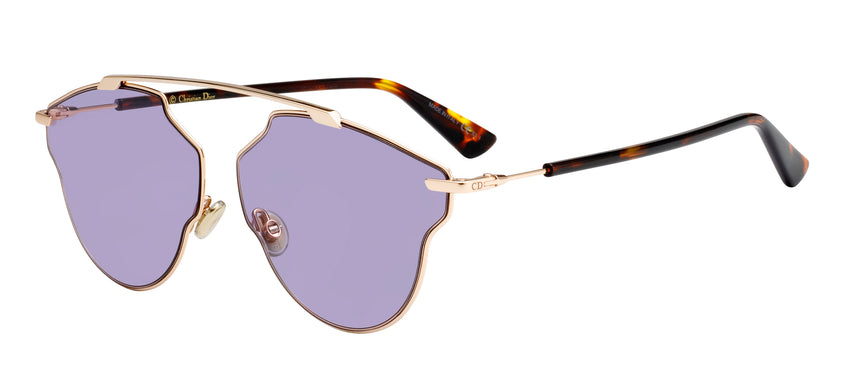 "CHRISTIAN DIOR ""DIORSOREALPOP"" SUNGLASSES, PURPLE"