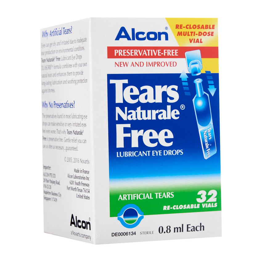 Alcon Tears Naturale Free Lubricant Eye Drops 32S