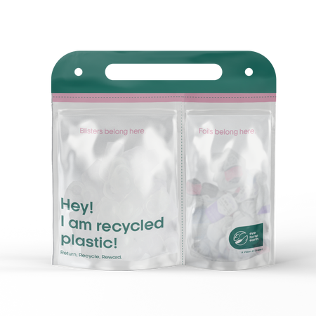 EYE FOR EARTH - CONTACT LENS RECYCLING BAG