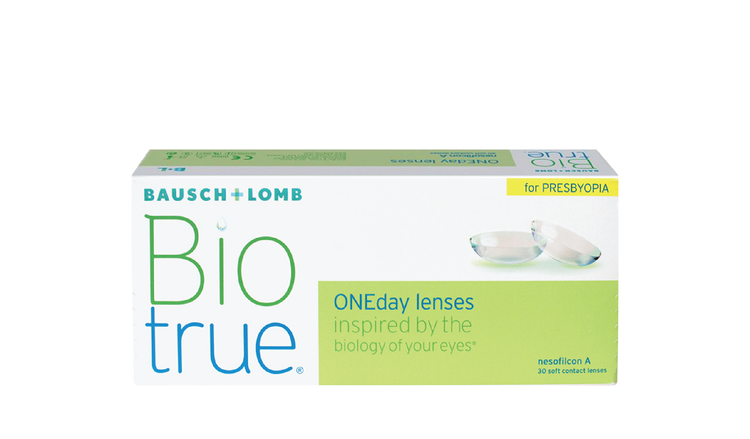 Biotrue® ONEday for Presbyopia