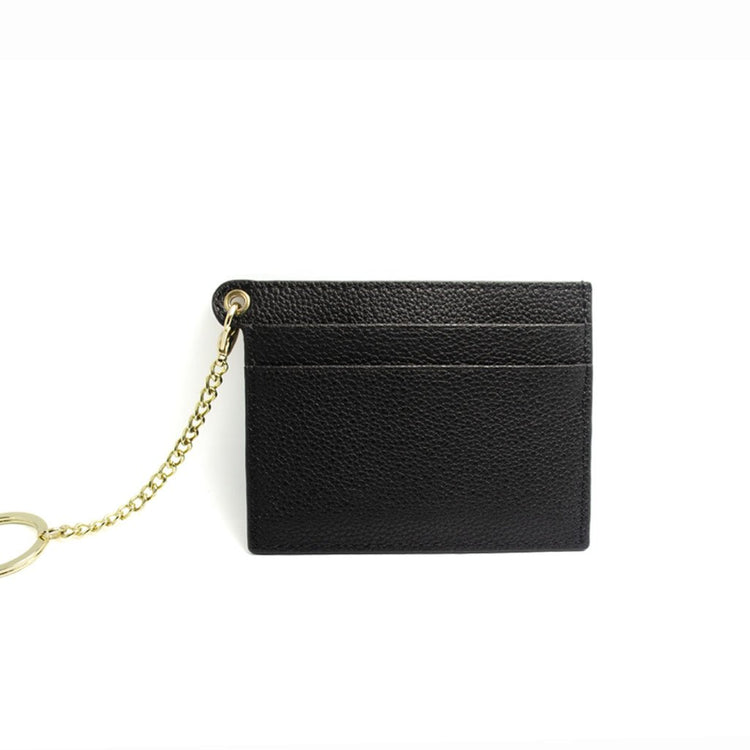 LUNA GEORGINA BLACK CARD HOLDER