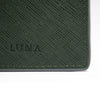 LUNA LAUREN EMERALD GREEN LUGGAGE TAG
