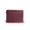 LUNA ASHLEY RED WINE CLUTCH
