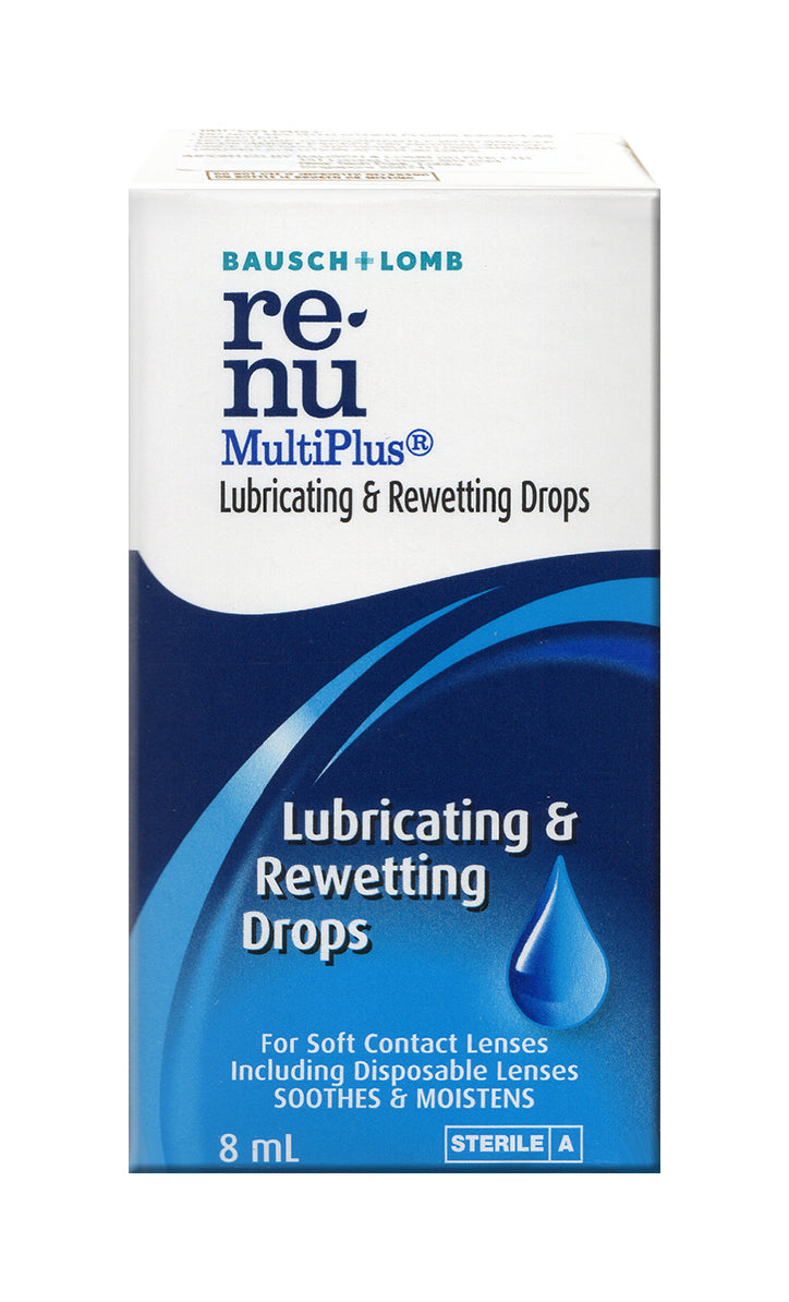Renu Multiplus Lubricating & Rewetting Drop 8ml