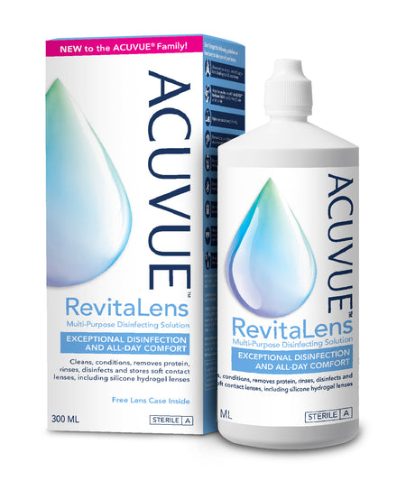 ACUVUE® RevitaLens Multi-purpose Disinfecting Solution (Pack of 3 x 300ML)