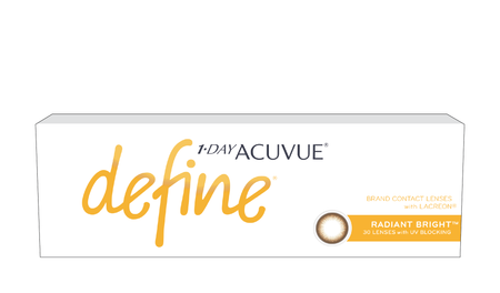 1-DAY ACUVUE® DEFINE® – RADIANT BRIGHT™