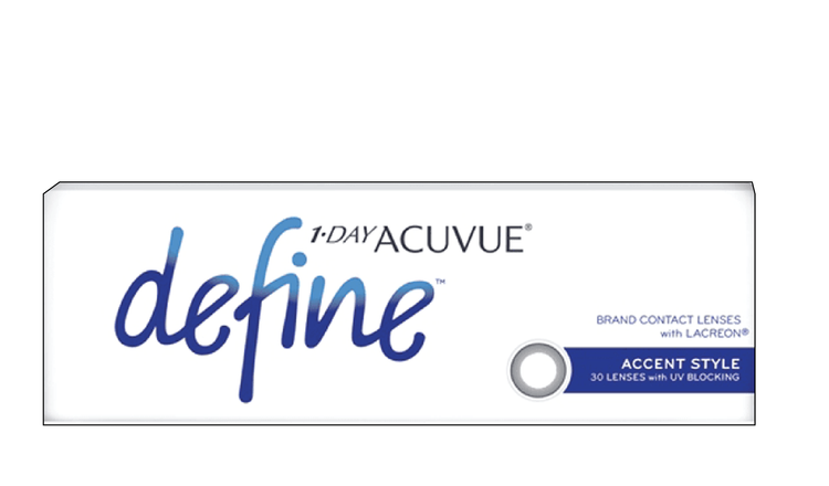 1-DAY ACUVUE® DEFINE® – ACCENT STYLE