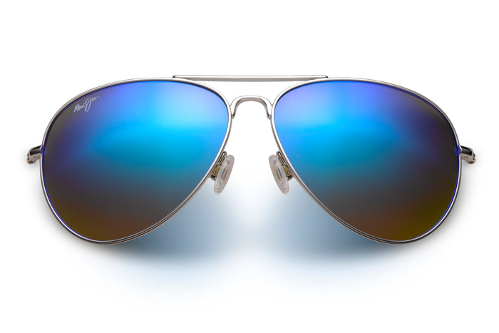 Maui Jim Mavericks Silver Blue B264