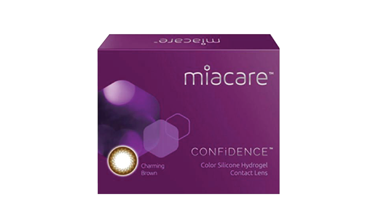 Miacare CONFiDENCE (Monthly)  – Mystic Black / Charming Brown