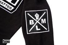 BLM MOVEMENT Hoodie Dress with Chenille Patch
