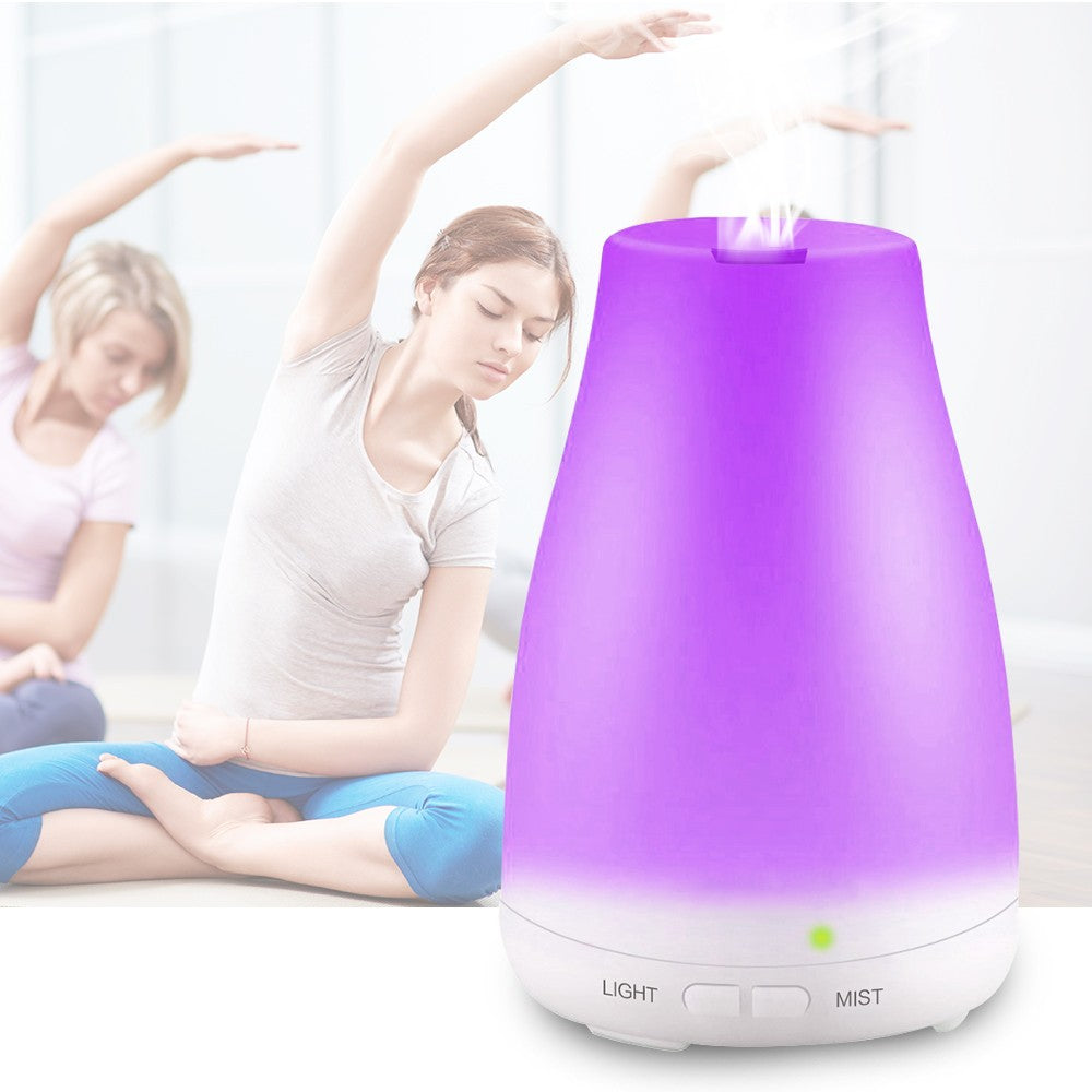 Ultrasonic Aromatherapy Oil Diffuser Cool Mist With Color LED Lights