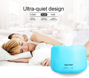 300ML Essential Oil Aroma Diffuser + Remote Control