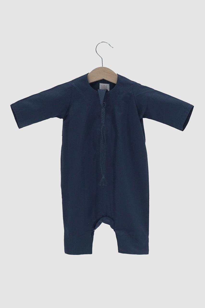 Winter Collection: Kandora Onesie - Navy Blue