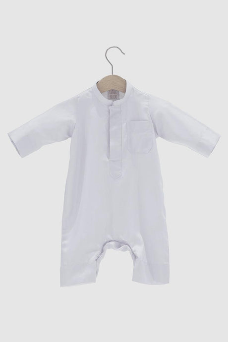 Dishdasha Onesie - White