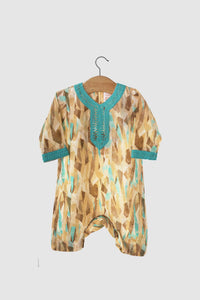 Liberty Collection: Jalabiya Onesie - Amber