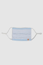 Face Mask - Blue Shemagh