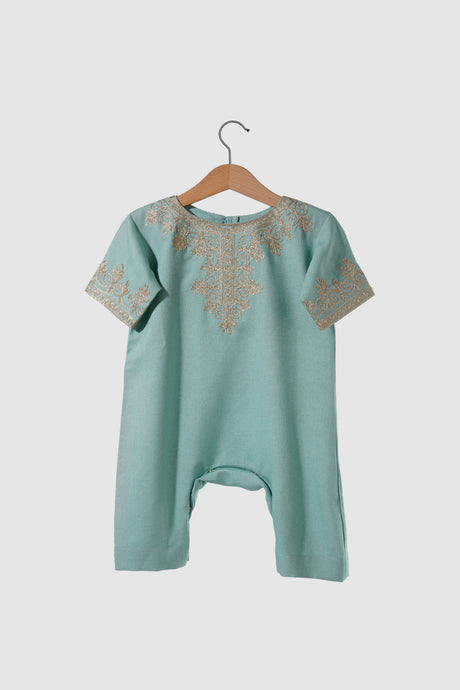 Jalabiya Onesie - Classic Collection - Mint