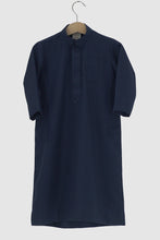 Winter Collection: Dishdasha - Navy Blue