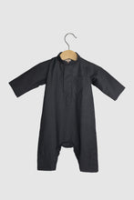 Winter Collection: Dishdasha Onesie - Dark Grey