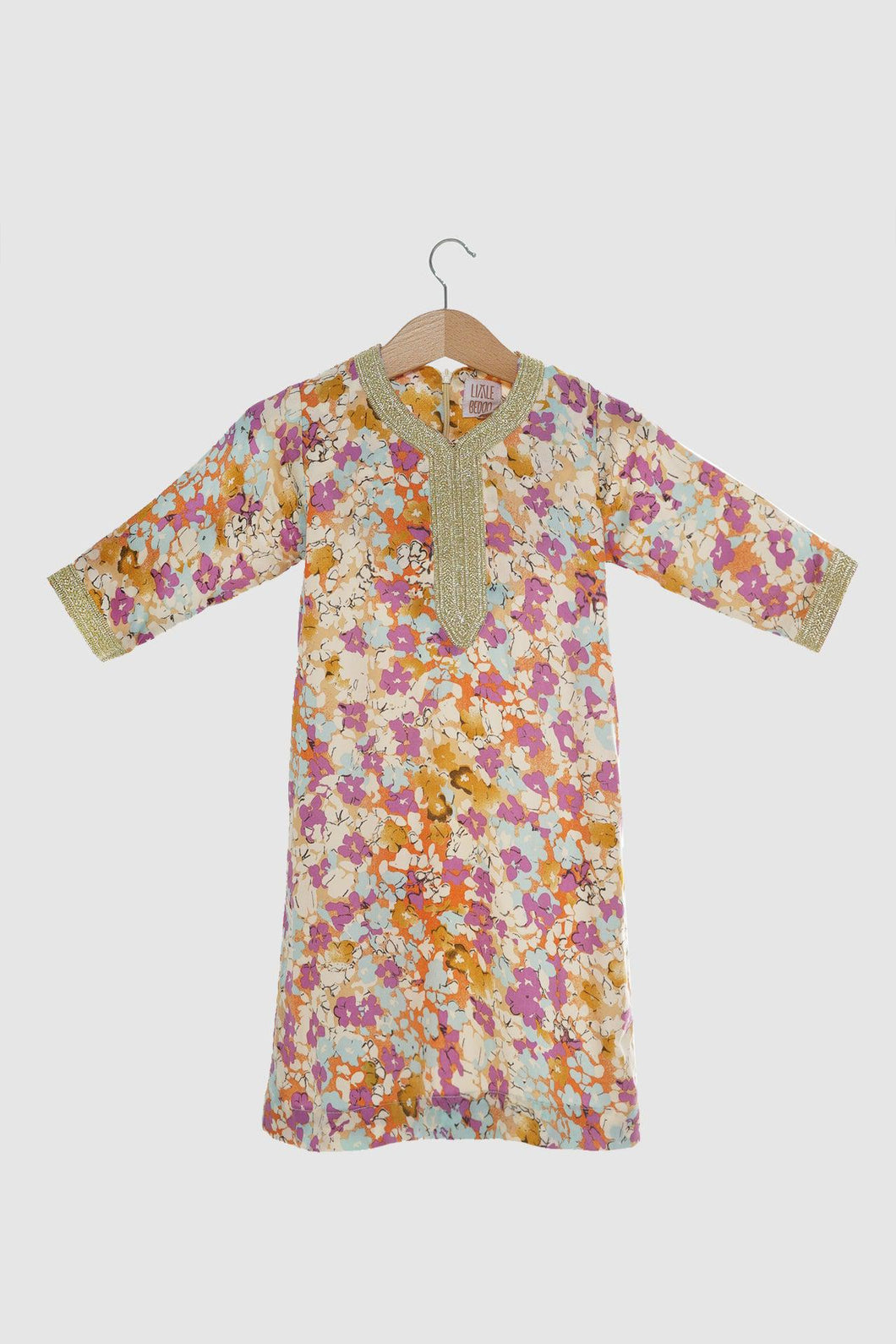 Floral Collection: Jalabiya - Dawn