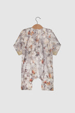 Jalabiya Onesie - Limited Edition - Grey Floral