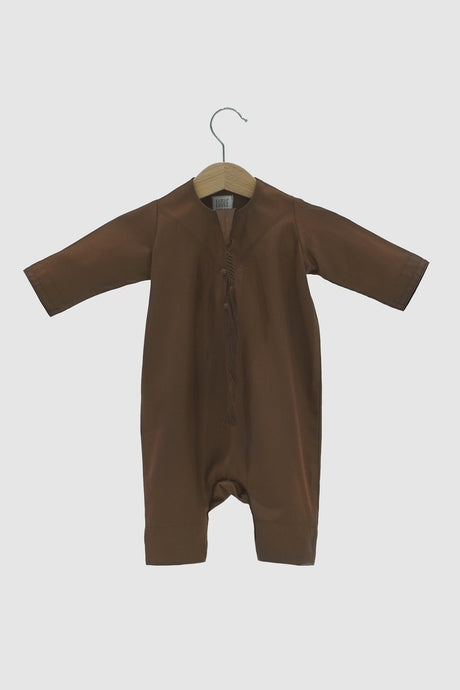 Winter Collection: Kandora Onesie - Brown