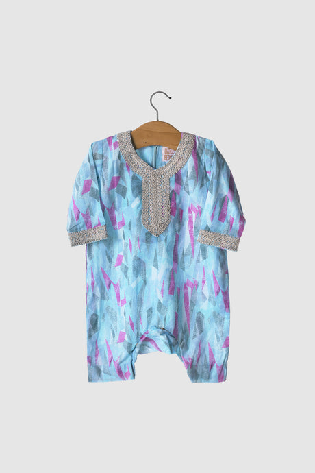 Liberty Collection: Jalabiya Onesie - Moonstone